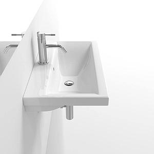 Faeber Barcelona Basin 700mm 1 Tap Hole Wall Hung Basin