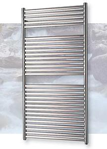 Myson Angara Chrome Heated Towel Rail Radiator