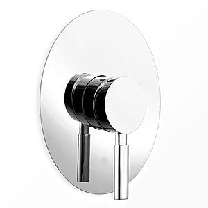 Eau Oval Chrome Concealed Bath Shower Manual Mixer Valve w/ Brass Internals - SALE